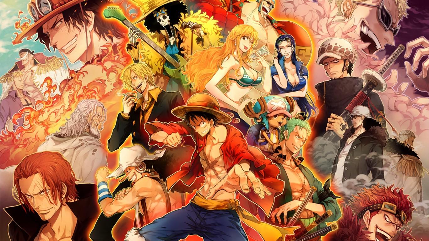 One Piece Characters Wallpaper 162 1366x768 - Wallpaper - HD Wallpaper