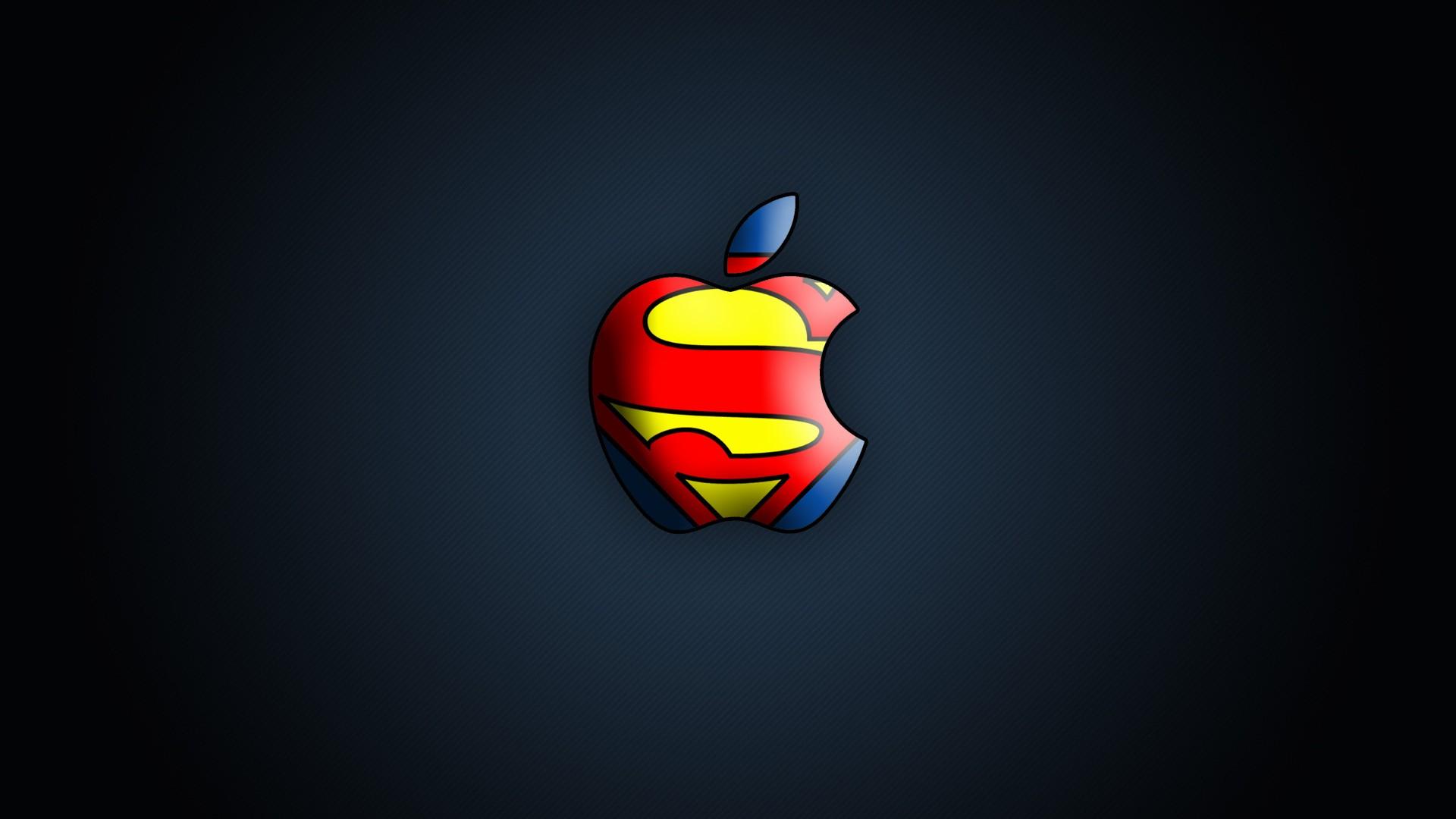 Superman Apple Logo Wallpaper 366 1920x1080 1080p Wallpaper Hd